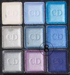 "Tени Christian Dior ""Palette Fards Apaupieres 9-Colour"", 8.5g"